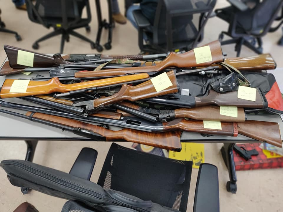 Hampden County residents lay down their arms at local Gun Buy Back