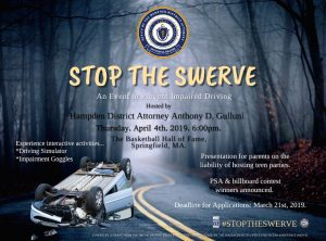 Hampden District Attorney Anthony Gulluni to Host Impaired Driving Event