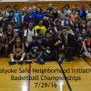 Basketball Championships Group Photo